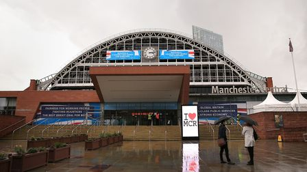 The Conservative Party Conference at the Manchester Central Convention Complex in Manchester, 2017.