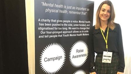 Hannah Brown from Langford speaks about her experiences on World Mental Health Day. Picture: Courtes