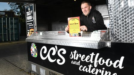 Owner of CC's street food and catering Shane Cole is appealing for donations for the initiative Feed