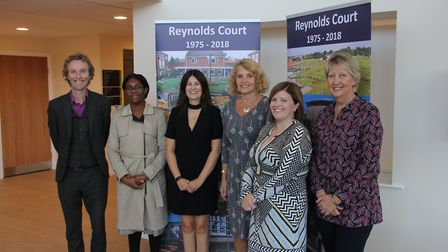 The opening of Reynolds Court, Newport. Picture: CONTRIBUTED