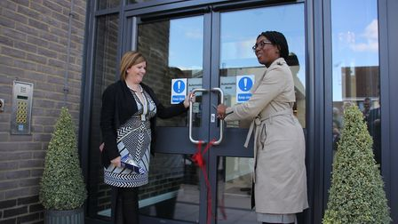 MP Kemi Badenoch opens Reynolds Court in Newport. Picture: CONTRIBUTED