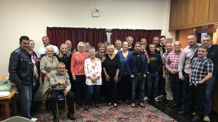 Former workers from Greene King's Biggleswade brewery met for a reunion last Saturday. Picture: Lind