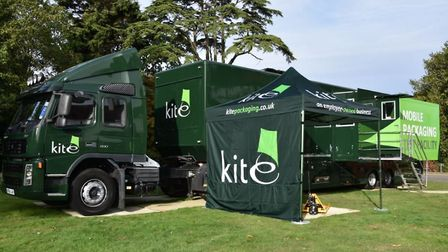 Part of Kite Packaging's initiative includes a mobile testing and demonstration hub, where it will c