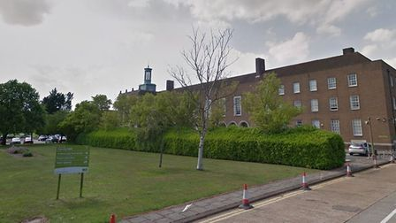 Hertford County Hall, where the county council has offices. Picture: Google.