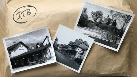 A large brown envelope of photographs has been found in Stevenage town centre. Picture: Herts police