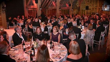 The dinner and dance at The Priory in Little Wymondley was a resounding success. CREDIT: Chris Batt.