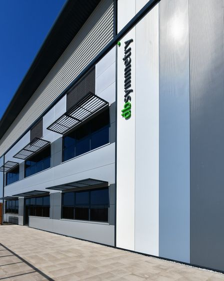 A new Co-op regional distribution centre is coming to Symmetry Park in Biggleswade. Picture: Inform