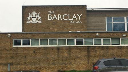 The Barclay School in Stevenage, which could be taken over by a multi-academy trust. Picture: Barcla