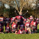 Raymond James sponsoor the shorts worn by Hitchin Ladies Rugby Club. CREDIT AMY HAUGHTON