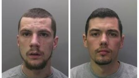 Tony Smith, from Willingham, and Charlie Oakley from Shefford, have been sentenced to six years in