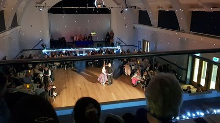 The dance event invited spectators, who packed out Hitchin Town Hall. Picture: Geoff Ide