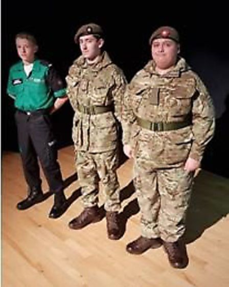 Pupils at Marriotts School in Stevenage attended special assemblies to learn about World War I throu