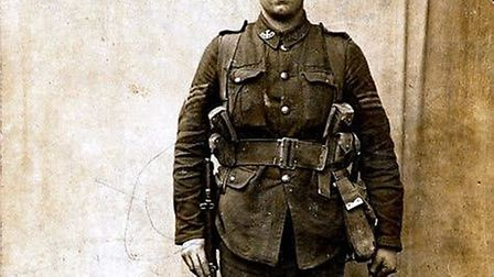 Frank Young was one of two men in Hertfordshire to be awarded the Victoria Cross during the First Wo