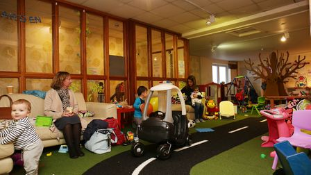The re-launch of The Secet Garden to include family nurture and wellbeing. Picture: DANNY LOO