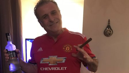 Nick Lavranos from Stevenage has won £40,000 on a £5 bet. Picture: Courtesy of Nick Lavranos