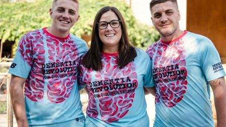 Tom Bradshaw, Carli Pirie and Jack Bradshaw each have a 50 per cent chance of developing early-onset