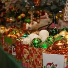 Make your Christmas tree sparkle with an array of baubles in red, green, gold and more. Picture: Dan