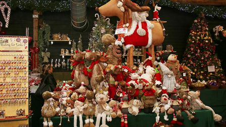 The Magic of Christmas, near Stevenage, stocks a wide range of decorations including reindeer, unico