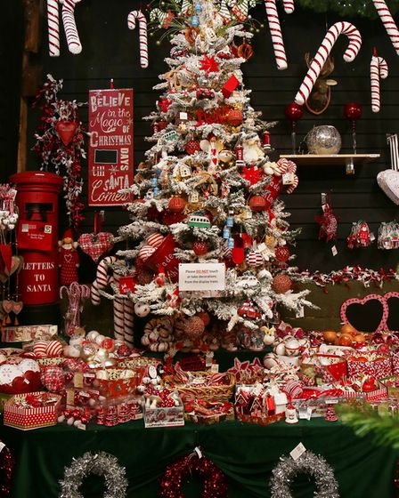 Browse Christmas trees and high quality decorative ornaments that you'd find in European Christmas m