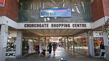 Churchgate Shopping Centre, Hitchin. Picture: DANNY LOO