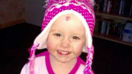 Tiegan Jane Bunn from Knebworth died of leukaemia at the age of two.