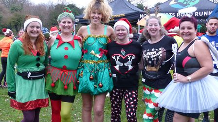 Letchworth Santa Canta 5k: There was festive-themed fancy dress aplenty at the annual run, which thi