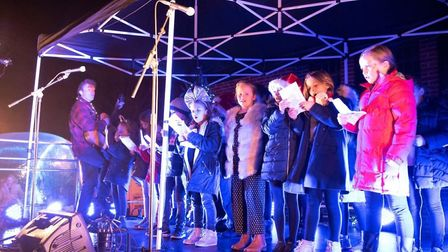 A number of local groups provided entertainment on the evening. Picture: Darren Gilbert.