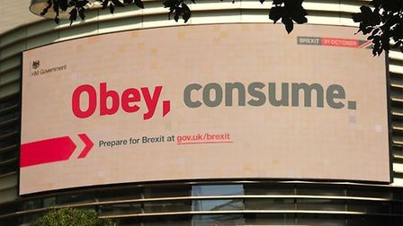 """The government's £100 million """"Get ready"""" Brexit public information campaign has been seized on by R"""