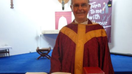 Father Michael Lambert has died aged 79. Picture: Catholic church of Our Lady Immaculate & St Andrew