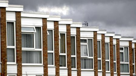 There was a 34 per cent fall in property sales in Stevenage in the first seven months of this year.