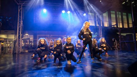 Dance group IDentity entertained the crowds at the Stevenage Christmas Lights switch-on . Picture: R