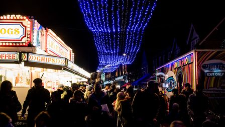 The lights and the crowds. Picture Gary Walker
