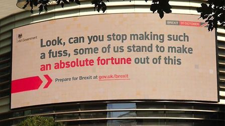 Designers have been making their own versions of the 'Get Ready campaign posters'. Picture: Chris Ba