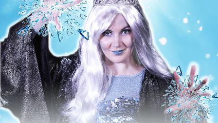 Bethany Filler as The Snow Queen. Picture: Market Theatre