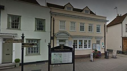 Thaxted Library.