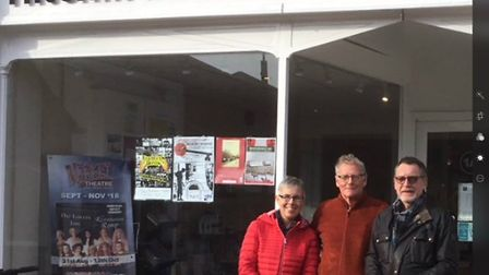 Members of Churchgate Resurgence PB, who have come up with a new plan for the market area. Picture: