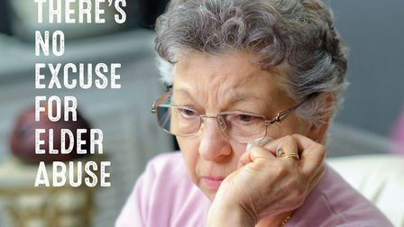 The campaign aims to raise awareness of how domestic abuse can affect the elderly. Picture courtesy