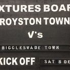 Royston Town hosted Biggleswade Town at Garden Walk on Saturday.