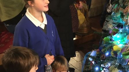 Visitors turned out in their thousands to the Hitchin Christmas Tree Festival at the weekend. Pictur