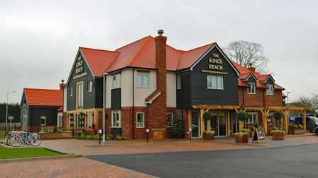 McMullen and Sons new pub, The King's Reach. Picture: Doug Mac