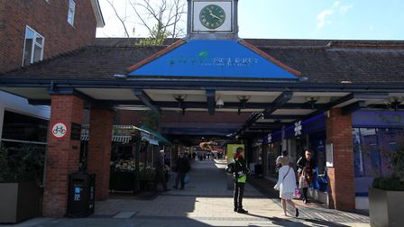 Garden Square Shopping Centre is set for a revamp. Picture: Harry Hubbard