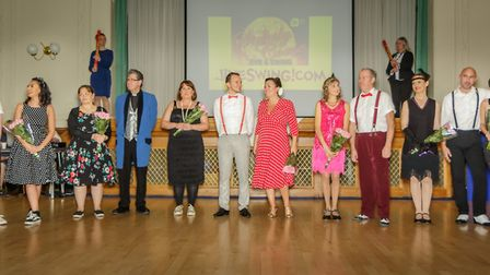 Strictly Come Jive & Swing 2018 contestants. Picture: Andrew Hyde