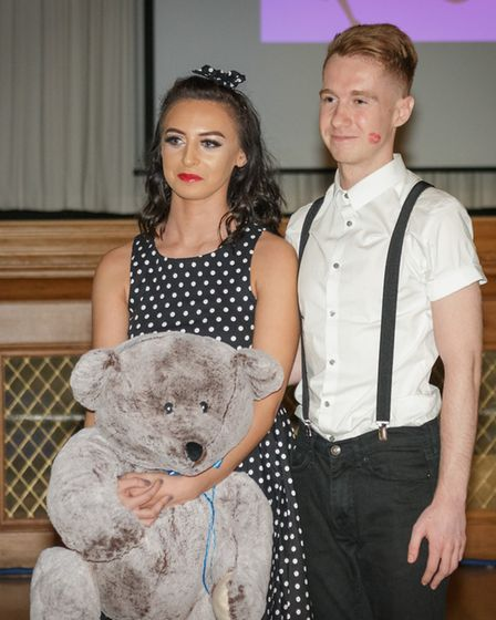 Strictly Come Jive & Swing 2018: Jess Carter and Harry Folgate wait for the judges' comments. Pictur