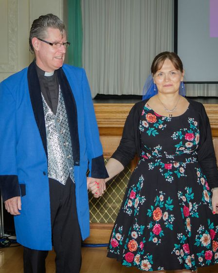 Strictly Come Jive & Swing 2018: Reverend Terrance Bell and Dr Sarah Bell. Picture: Andrew Hyde
