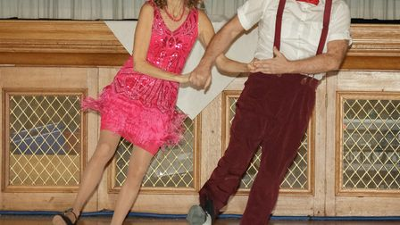 Strictly Come Jive & Swing 2018: Caroline Mayo and dance partner Graham perform. Picture: Andrew Hyd