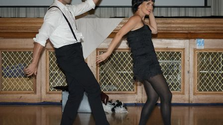 Strictly Come Jive & Swing 2018: Harry Johnson and Sharon Brown perform. Picture: Andrew Hyde