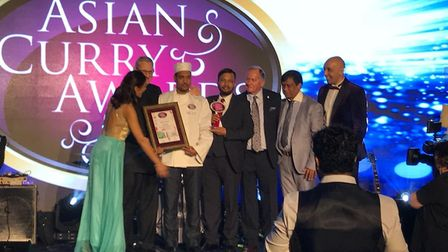 Chilli Lounge owner and chef Abbas Ahmed took home the Best Curry Chef award at the Asian Curry Awar