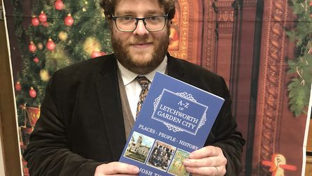 Josh Tidy has published his latest book on the history of Letchworth from A-Z. Picture: Heritage Fou