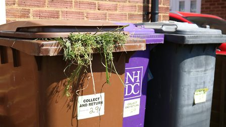 Bins in North Herts were regularly missed after new contractor Urbaser took over in May. Picture: DA