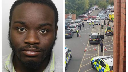 Dobgima Gwangwaa has been sentenced to seven years in prison for stabbing a taxi driver in Stevenage